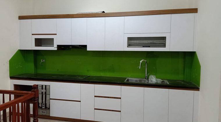 Tủ bếp Melamine đẹp ấn tượng năm 2020 - ACADO.VN
