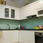 Hình ảnh tủ bếp Acryli của gia chủ sau khi đã bóc cánh
