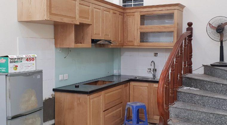 Hình ảnh tủ bếp gia đình anh Nguyện sau khi đã hoàn thiện