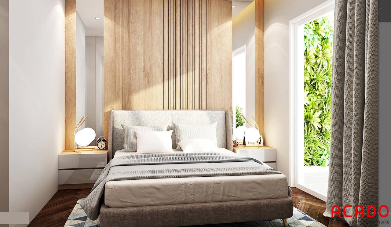 Thêm một mẫu thiết kế phòng ngủ nhẹ nhàng đón ánh sáng từ cửa sổ