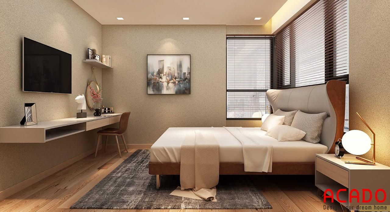 Thêm một vài bức tranh trang trí để phòng ngủ thêm sự thu hút