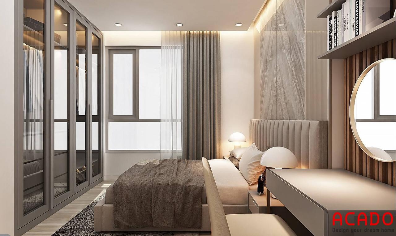 Thiết kế nội thất chung cư 120m2 hiện đại - nội thất ACADO