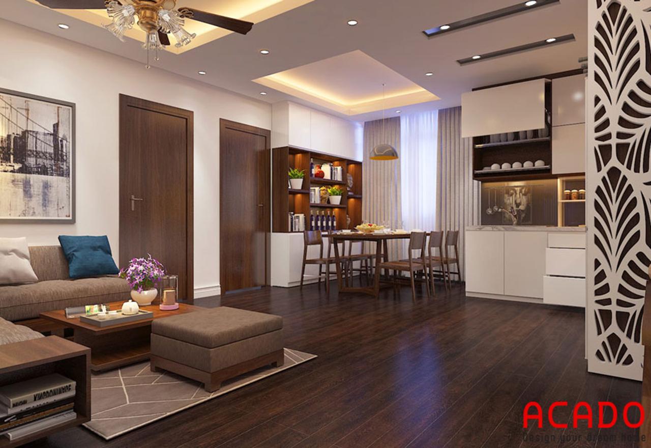 Thiết kế nội thất chung cư 170m2 - nội thất ACADO