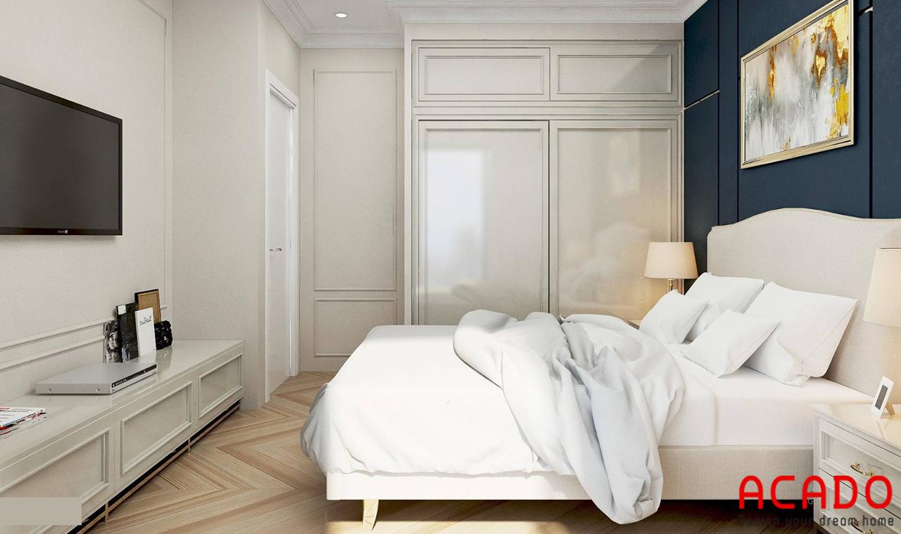 Kệ tivi trong phòng ngủ tiện nghi cho gia chủ khi sử dụng