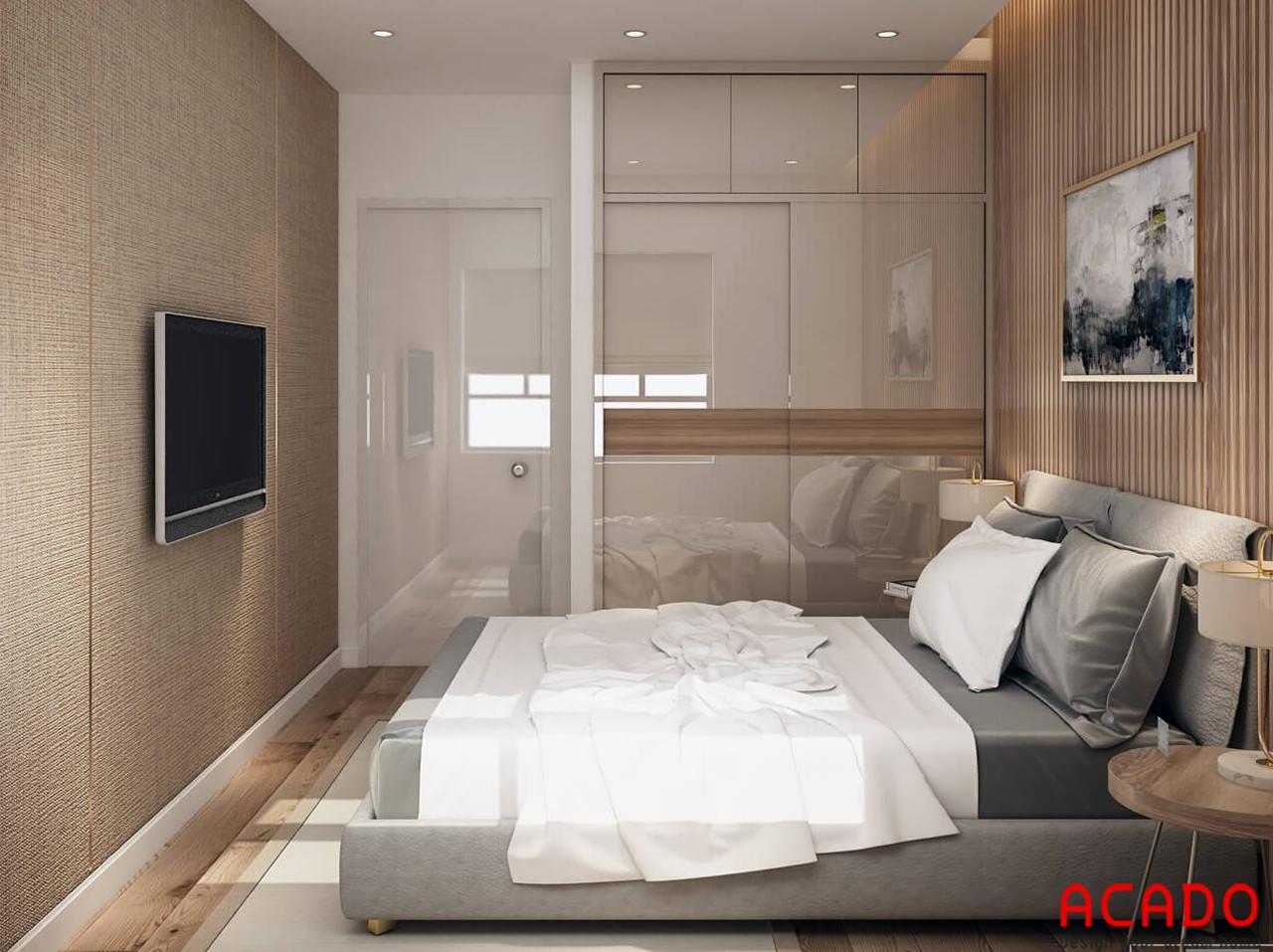 Phòng ngủ thiết kế đầy đủ tiện nghi - nội thất ACADO