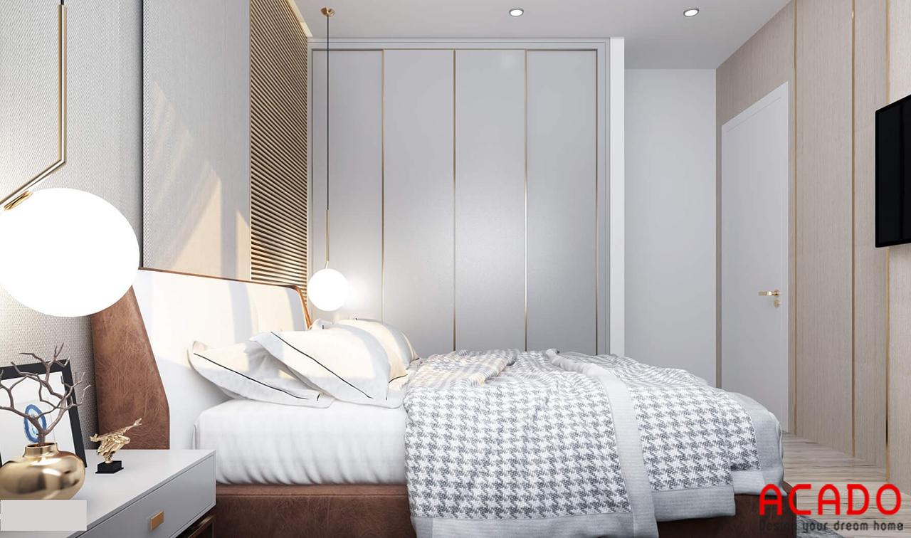 Thiết kế tủ quần áo cánh lùa hiện đại và tiết kiệm diện tích không gian