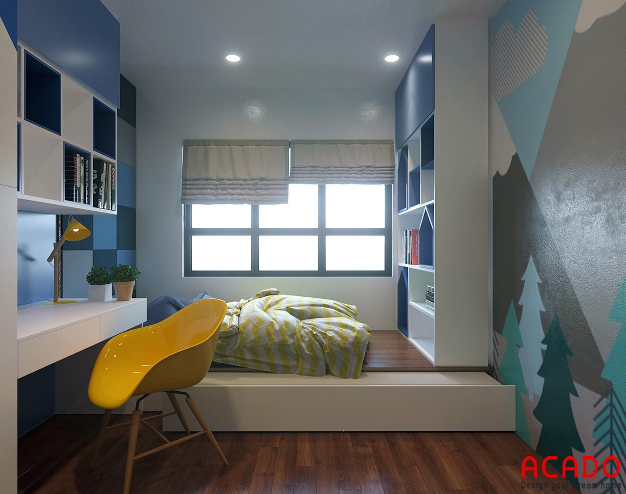 Phòng ngủ thiết kế cho bé - nội thất ACADO