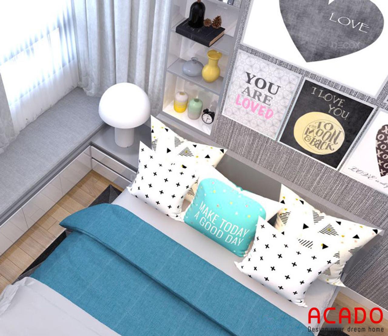 Thiết kế nội thất chung cư 90m2 - nội thất ACADO