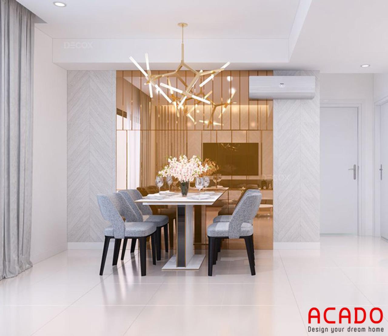 Bộ bàn ăn sang trọng và tinh tế cho các căn hộ chung cư