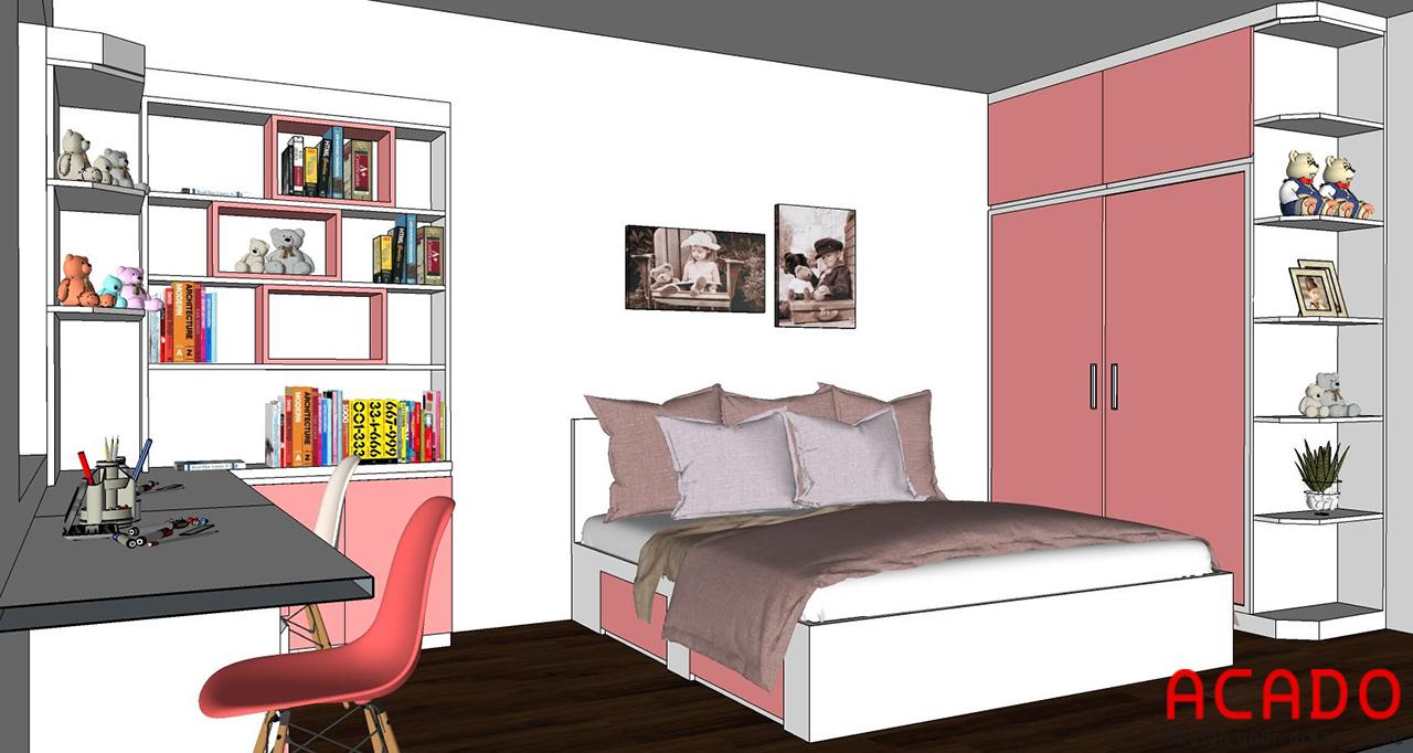 Thiết kế và thi công nội thất tại Hoàng Mai - Hà Nội , Nội thất ACADO