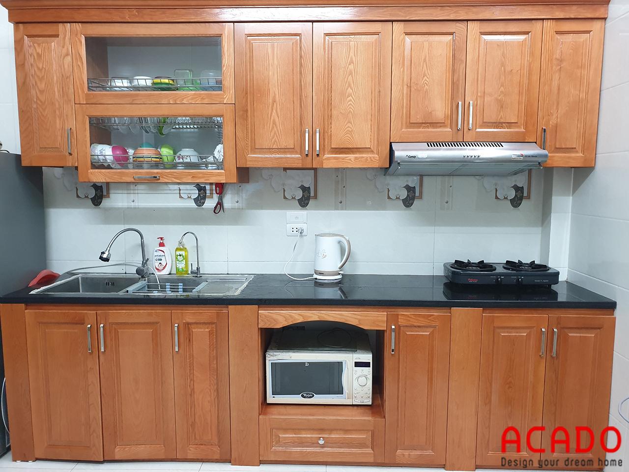 Làm Tủ Bếp Tại Phú Lương - Hà Đông, gia đình chị Trang