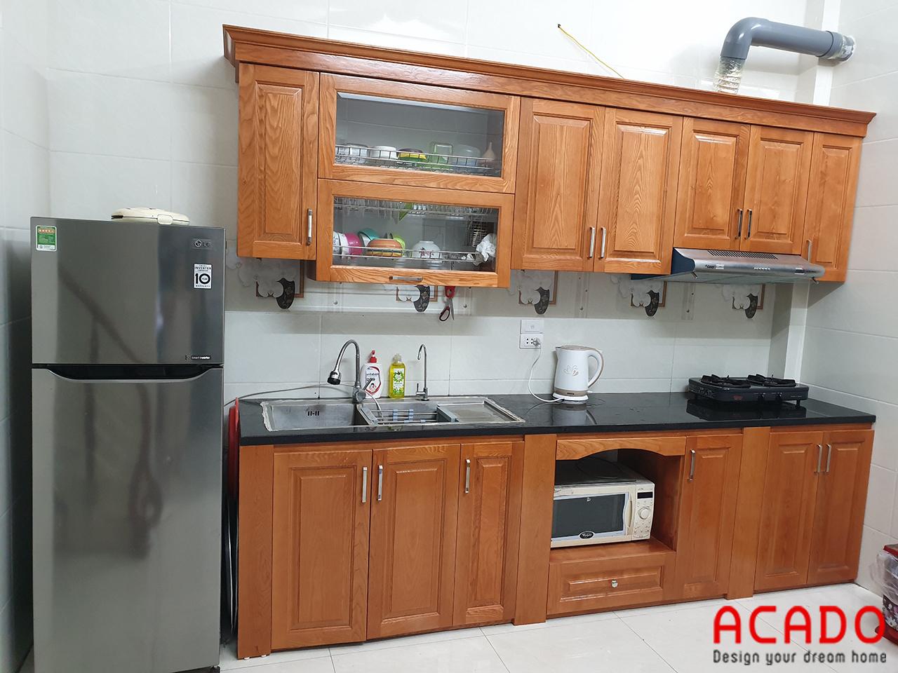 ACADO chuyên thiết kế và thi công tủ bếp uy tín - chất lượng tại hà Nội