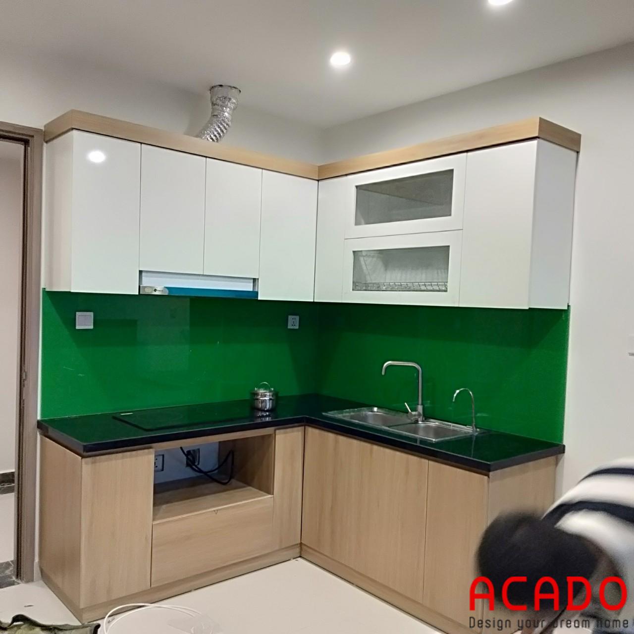 ACADO chuyên thiết kế và thi công tủ bếp uy tín tại Hà Nội