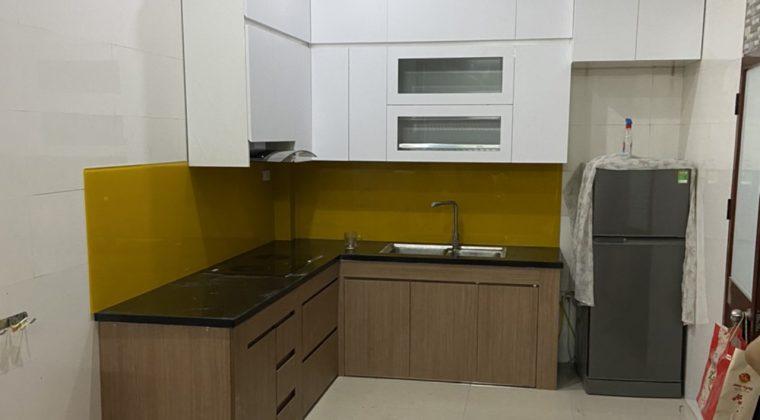 Hoàn thiện tủ bếp cho gia đình chị trang - nội thất ACADO