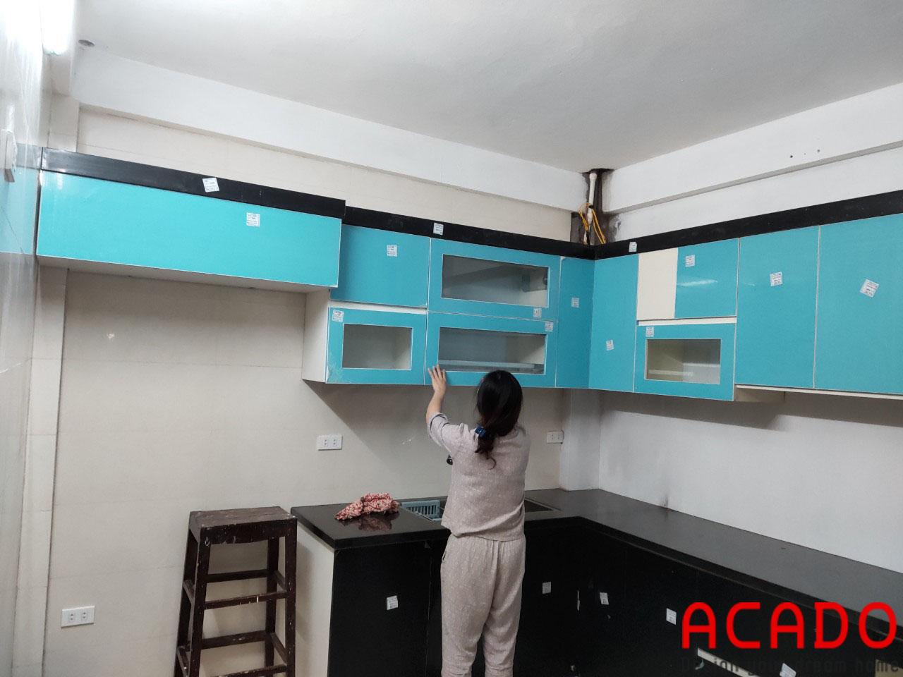 Thùng Picomat kết hợp với cánh Acrylic tăng độ bền cho bộ với thùng Picomat chống ẩm chống mối mọt tuyệt đối