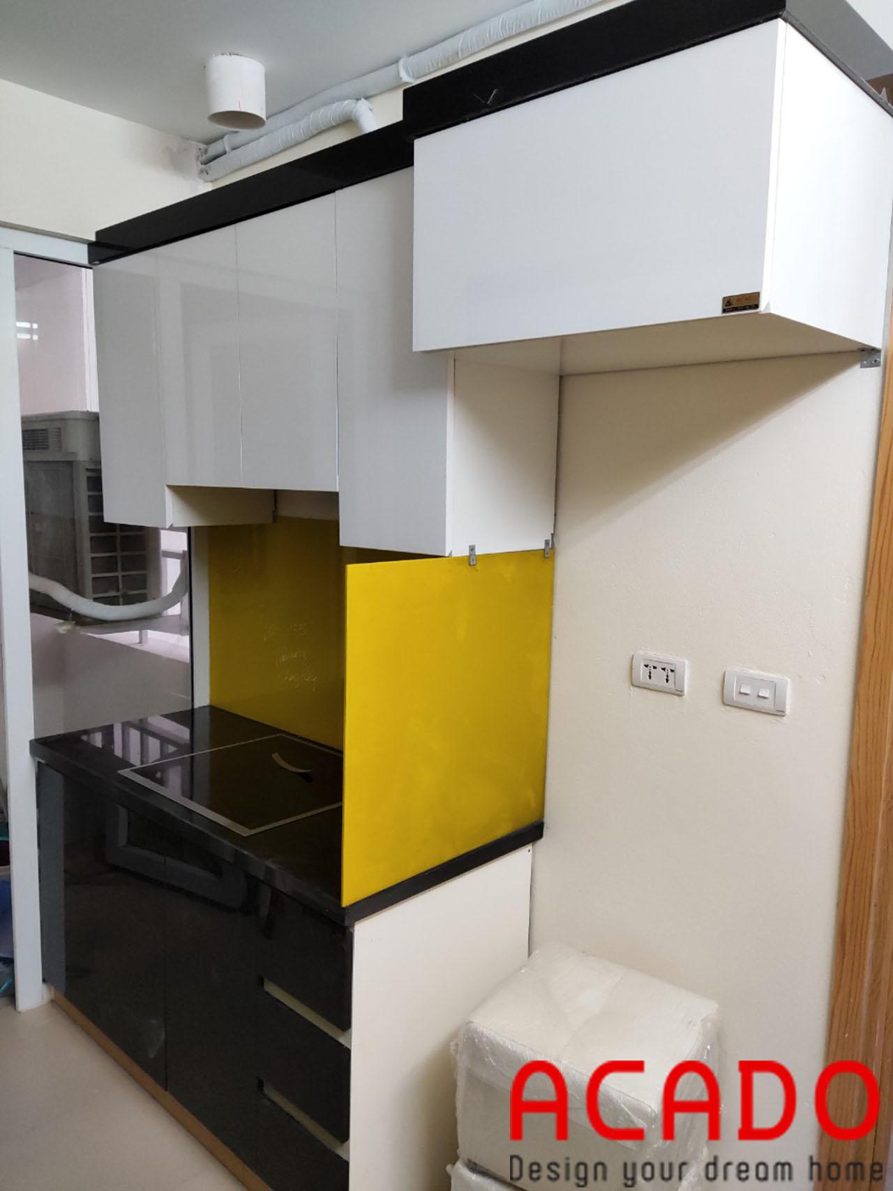 Công trình đóng tủ bếp tại Kiên Hưng được ACADO hoàn thiện và bàn giao cho gia đình anh Đăng