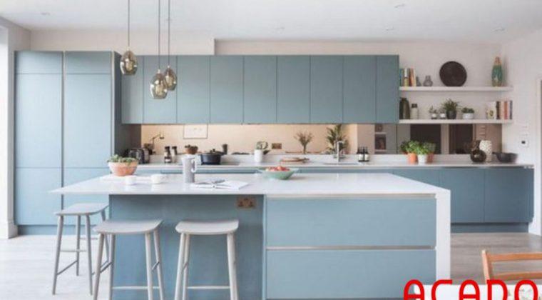 Văn bếp thiết kế theo xu hướng nội thất xanh hội tụ đấy đủ vẻ đẹp nhẹ nhàng,tinh tế,năng động,...