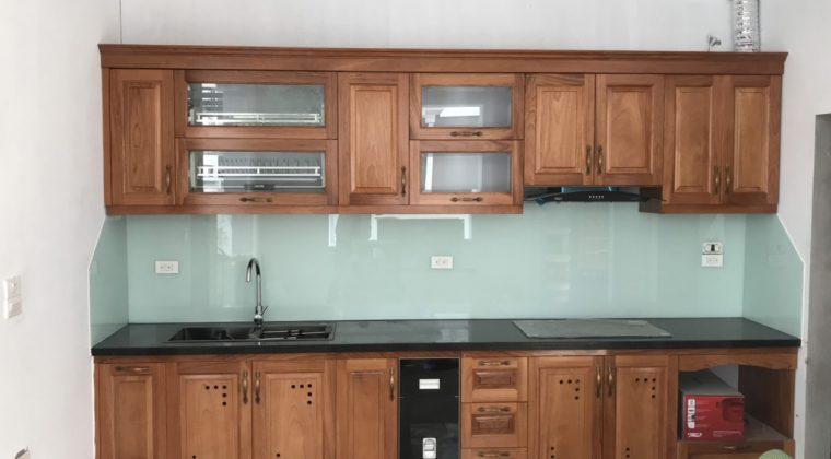 Công trình tủ bếp được hoàn thành và bàn giao cho gia đình chú Hòa-Nội thất ACADO