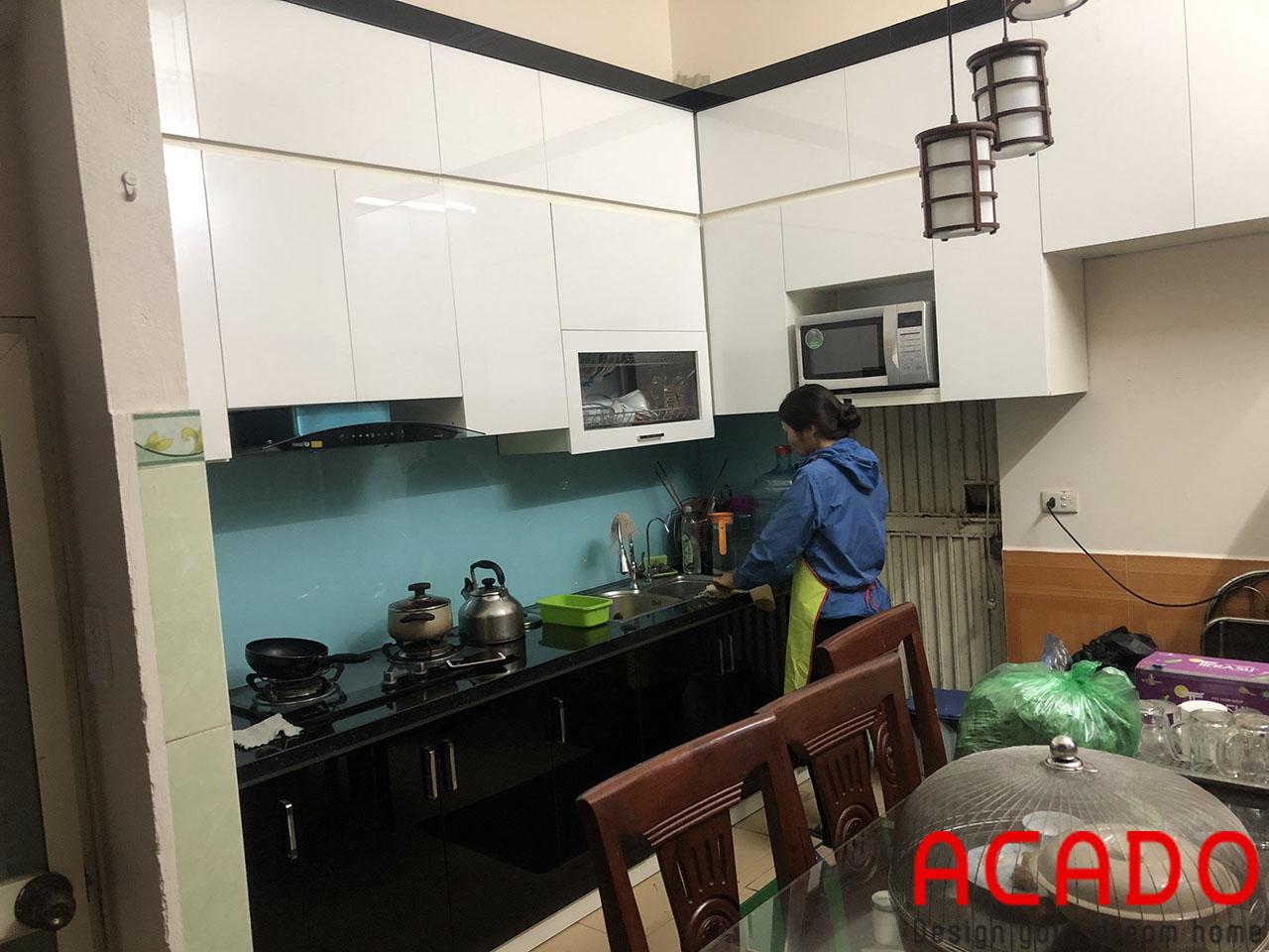 Thùng Picomat chống nước tuyệt đối giúp cho tủ bếp gia đình bạn đạt đến độ bền cao trong quá trình sử dụng