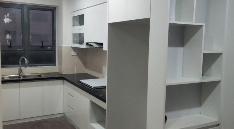 Hoàn thành lắp đặt tủ bếp gia đình chị Hồng tại Quang Trung