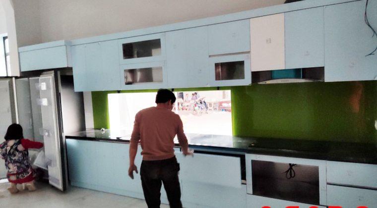 Hoàn thành quá trình thi công tủ bếp tại Bắc Giang cho gia đình anh thắng kịp đón tết