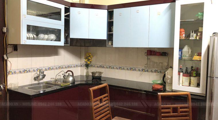 Tủ bếp mang lại không gian bếp ấp áp - Lắp đặt tủ bếp tại Thanh Xuân
