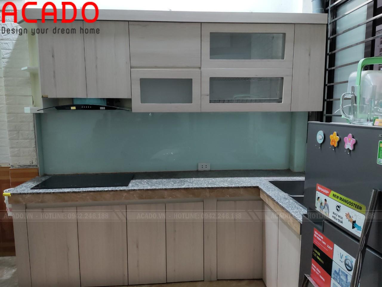 Tủ bếp thiết kế đảm bảo đầy đủ công năng sử dụng - Nội thất ACADO