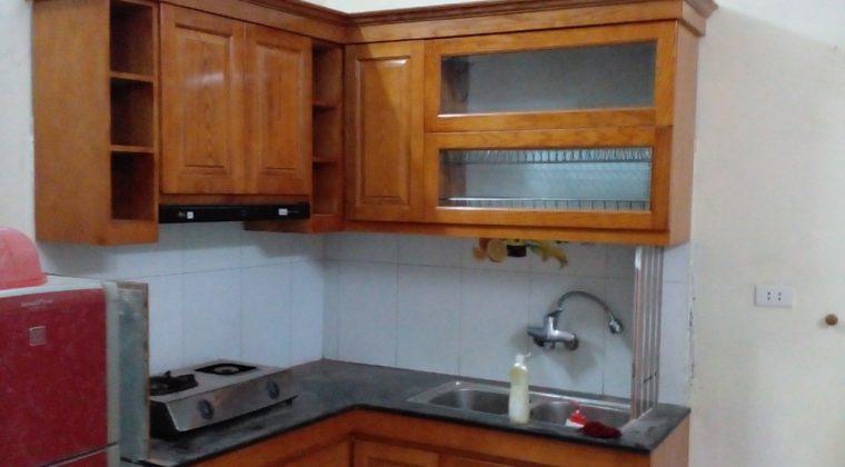 Hoàn thành công trình tủ bếp và bàn giao lại cho gia đình anh Phong - Thi công tủ bếp tại làng Hòa Bình
