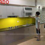 Hoàn thành quá trình làm tủ bếp tại Thanh Oai và bàn giao tại giao tủ bếp lại cho gia đình anh Thắng