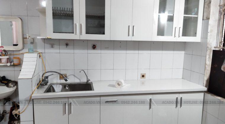 Tủ bếp thiết kế nhỏ gọn phù hợp với không gian bếp nhỏ - Nội thất ACADO